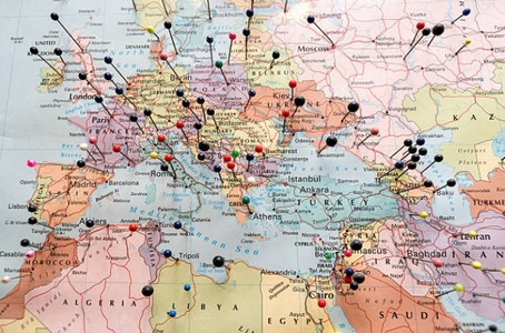 Mapas de muchos lugares del mundo