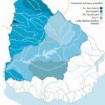 mapa hidrográfico uruguay