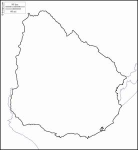 mapa mudo uruguay
