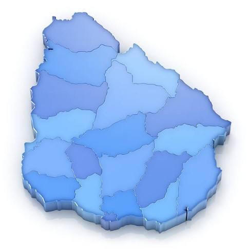 Mapas de departamentos del Uruguay