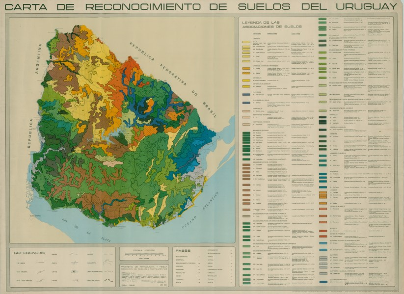 Carta suelos Uruguay