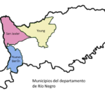 Mapa de Municipios de Río Negro