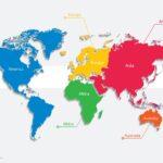 Mapamundi continentes