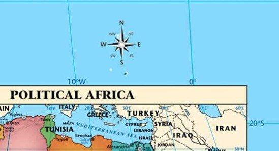 Orientacion mapa