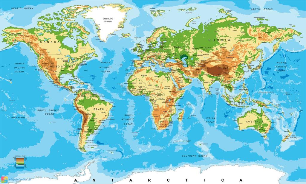 Planisferio Gigante físico