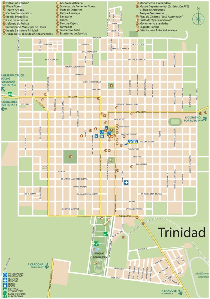 Plano Trinidad Flores