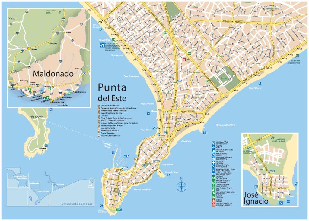 Plano Maldonado Punta del Este