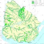 Mapa de vegetación de Uruguay