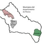 Mapa de Municipios de Rivera
