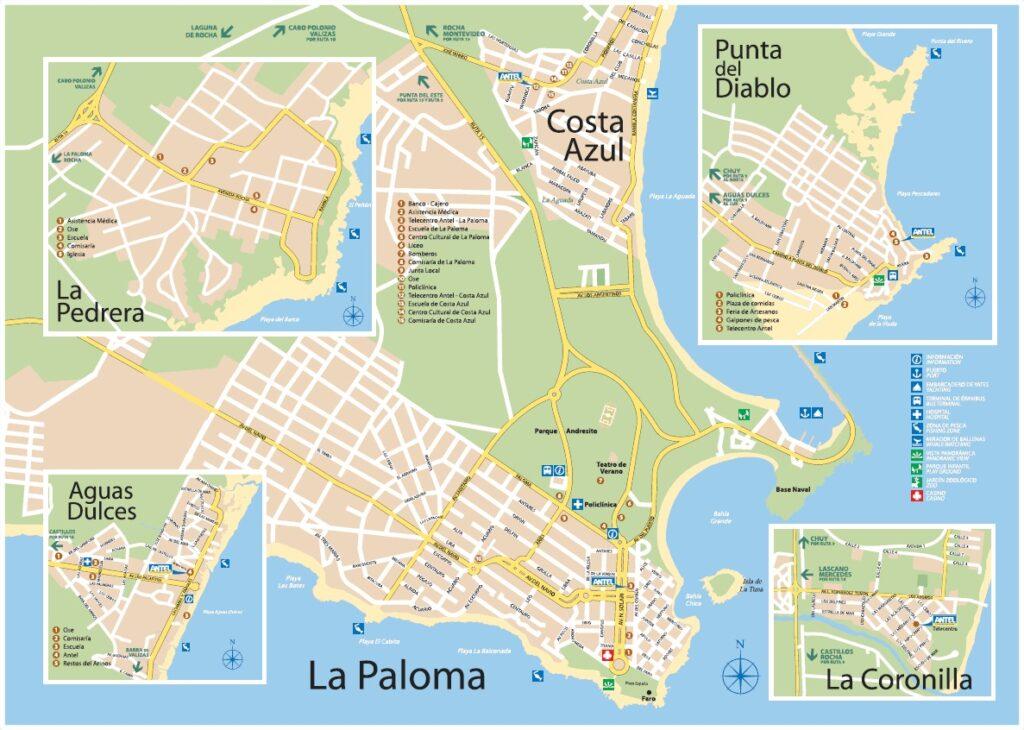 Plano La Paloma Rocha