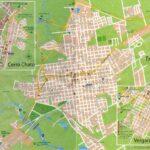 Plano de la ciudad de Treinta y Tres