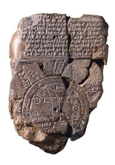 Primer mapa de piedra