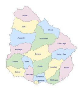 Mapa político que es