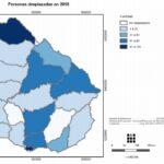 Mapas de Personas desplazadas Uruguay 2018