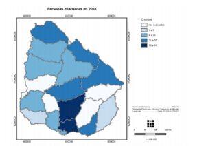 personas evacuadas 2018 ine 2019
